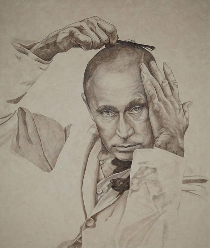 портрет маслом по фото maslo-holst.ru