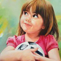 Классический - детский портрет