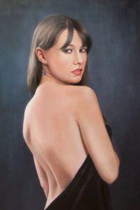 Классический - портрет девушки